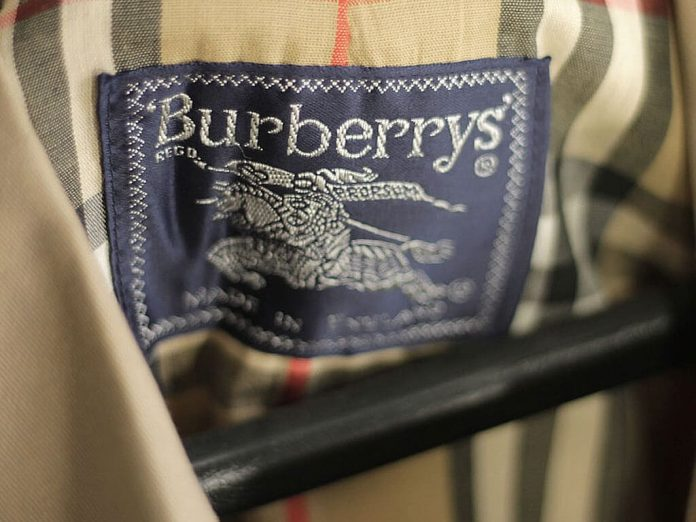Capa do post sobre a Burberry