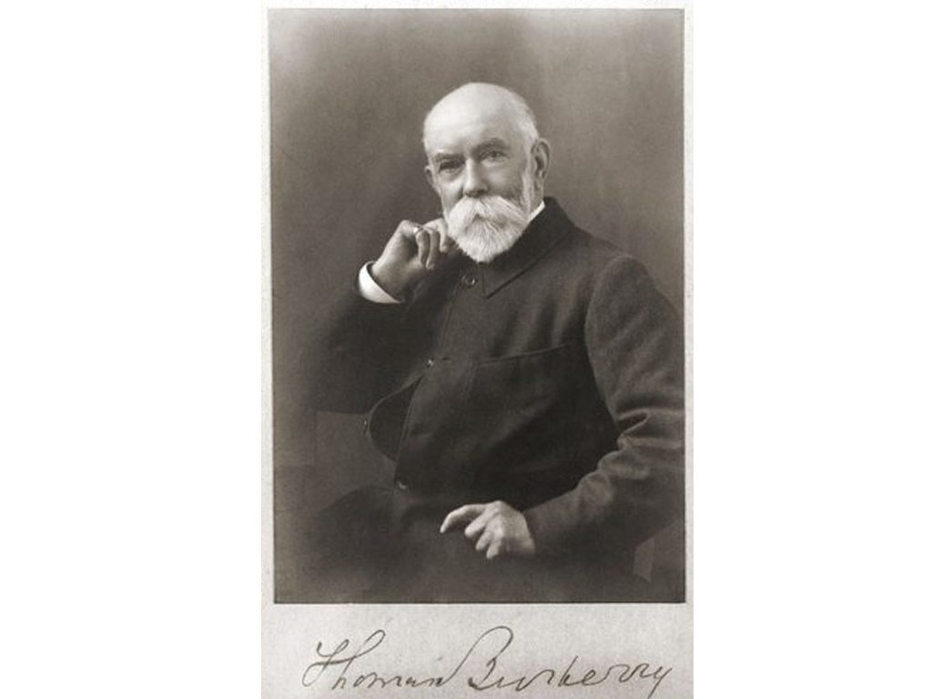 Thomas Burberry.