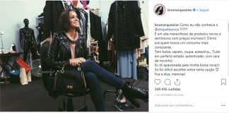 Bruna Marquezine usa bolsa do Etiqueta Única.