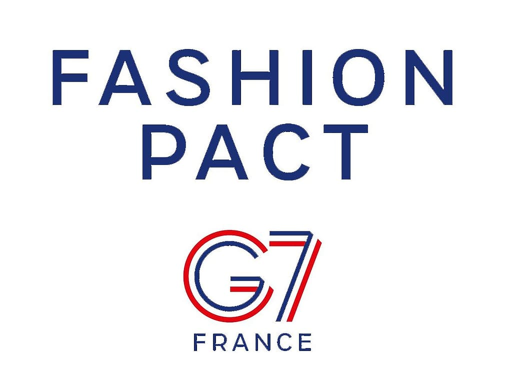 Logo do Fashion Pact 2019